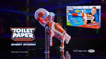 Toilet Paper Blasters Sheet Storm TV Spot, 'Let It Rip' - Thumbnail 7