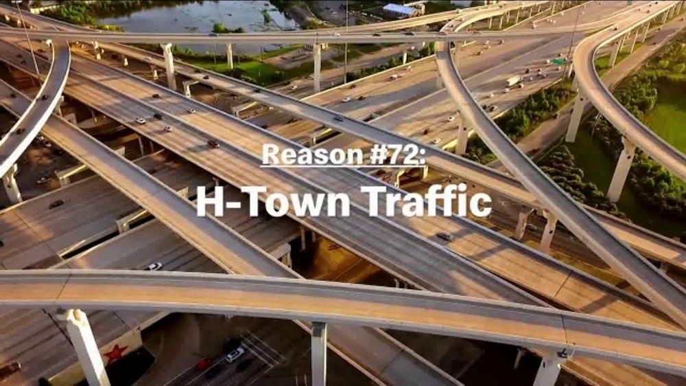 McDonald's Break Menu TV Commercial, '250 Reasons: H-Town Traffic'