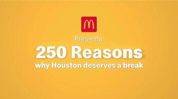 McDonald's Break Menu TV Spot, '250 Reasons: H-Town Traffic' - Thumbnail 1