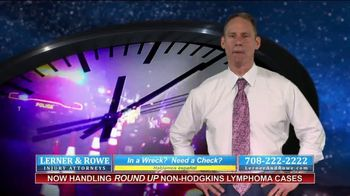 Lerner and Rowe Injury Attorneys TV Spot, 'Car Wrecks Don't Keep Business Hours + Roundup Cases' - Thumbnail 2