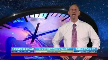 Lerner and Rowe Injury Attorneys TV Spot, 'Car Wrecks Don't Keep Business Hours + Roundup Cases' - Thumbnail 3
