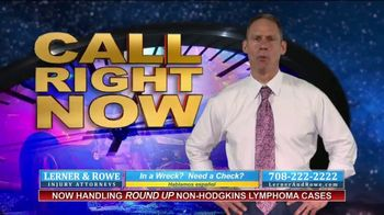 Lerner and Rowe Injury Attorneys TV Spot, 'Car Wrecks Don't Keep Business Hours + Roundup Cases' - Thumbnail 4