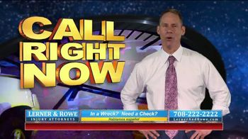 Lerner and Rowe Injury Attorneys TV Spot, 'Car Wrecks Don't Keep Business Hours + Roundup Cases' - Thumbnail 5