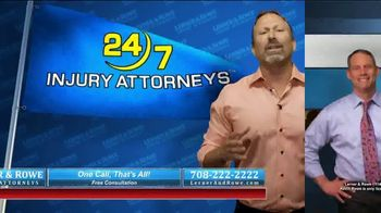 Lerner and Rowe Injury Attorneys TV Spot, 'Car Wrecks Don't Keep Business Hours + Roundup Cases' - Thumbnail 7
