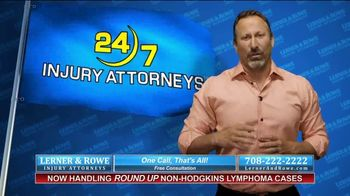 Lerner and Rowe Injury Attorneys TV Spot, 'Car Wrecks Don't Keep Business Hours + Roundup Cases' - Thumbnail 8
