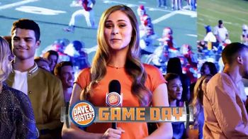 Dave and Buster's Unlimited Wings + $10 Gift Card TV Spot, 'Ready for Football: Game Days'