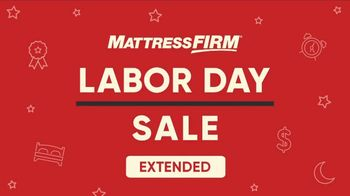 Mattress Firm Labor Day Sale TV Spot, 'Extended: King for a Queen'