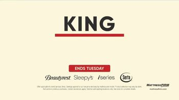 Mattress Firm Labor Day Sale TV Spot, 'Extended: King for a Queen' - Thumbnail 3