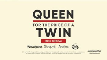Mattress Firm Labor Day Sale TV Spot, 'Extended: King for a Queen' - Thumbnail 4