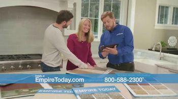 Empire Today 75 Percent Off Sale TV Spot, 'Get New Floors'