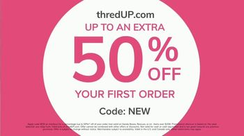thredUP TV Spot, 'Biggest Closet: 50 Percent' - Thumbnail 9