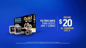 NAPA Auto Parts TV Spot, 'Ascensor: filtros' [Spanish] - Thumbnail 8