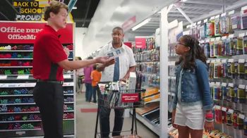 Office Depot TV Spot, 'Back to School: Some Pens? Get All the Pens: Paper'