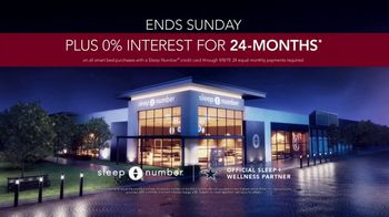 Sleep Number Biggest Sale of the Year TV Spot, 'Save 40 Percent Off' - Thumbnail 8