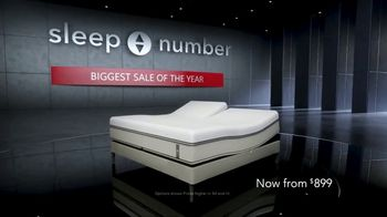 Sleep Number Biggest Sale of the Year TV Spot, 'Save 40 Percent Off' - Thumbnail 1