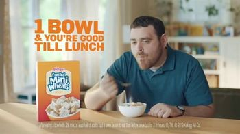 Frosted Mini-Wheats TV Spot, 'Growl Proof Your Morning Hunger Away' - Thumbnail 9