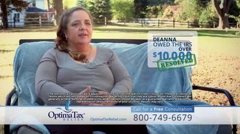 Optima Tax Relief TV Spot, 'Real Life Stories' - Thumbnail 9
