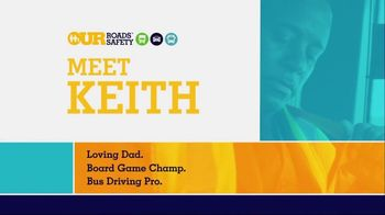 U.S. Department of Transportation TV Spot, 'Our Roads Safety: Meet Keith'