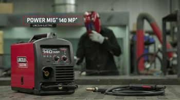 Lincoln Electric Power Mig 140 MP TV Spot, 'The Welder to Have if You Can Only Have One'