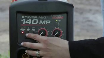 Lincoln Electric Power Mig 140 MP TV Spot, 'The Welder to Have if You Can Only Have One' - Thumbnail 2