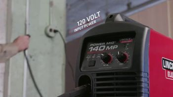 Lincoln Electric Power Mig 140 MP TV Spot, 'The Welder to Have if You Can Only Have One' - Thumbnail 4