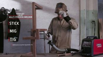 Lincoln Electric Power Mig 140 MP TV Spot, 'The Welder to Have if You Can Only Have One' - Thumbnail 6