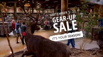 Cabela's and Bass Pro Shops Gear-Up Sale TV Spot, 'It's Your Season: Summer Is Over'
