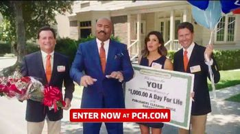 Publishers Clearing House TV Spot, 'Win $1,000 a Day for Life' Featuring Steve Harvey - Thumbnail 2
