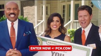 Publishers Clearing House TV Spot, 'Win $1,000 a Day for Life' Featuring Steve Harvey