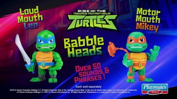 Rise of the Teenage Mutant Ninja Turtles Babble Heads TV Spot, 'Over 50 Sounds and Phrases' - Thumbnail 9