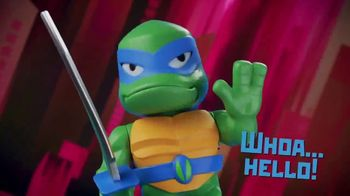 Rise of the Teenage Mutant Ninja Turtles Babble Heads TV Spot, 'Over 50 Sounds and Phrases' - Thumbnail 1