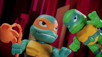 Rise of the Teenage Mutant Ninja Turtles Babble Heads TV Spot, 'Over 50 Sounds and Phrases' - Thumbnail 3
