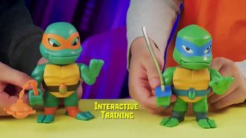 Rise of the Teenage Mutant Ninja Turtles Babble Heads TV Spot, 'Over 50 Sounds and Phrases' - Thumbnail 4