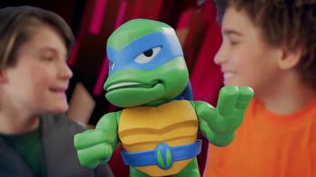 Rise of the Teenage Mutant Ninja Turtles Babble Heads TV Spot, 'Over 50 Sounds and Phrases' - Thumbnail 5