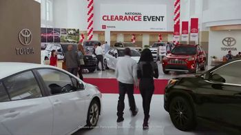 Toyota National Clearance Event TV Spot, 'Most Popular Models' [T2] - Thumbnail 1