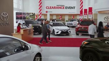 Toyota National Clearance Event TV Spot, 'Most Popular Models' [T2] - Thumbnail 2