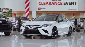 Toyota National Clearance Event TV Spot, 'Most Popular Models' [T2] - Thumbnail 5