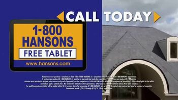 1-800-HANSONS Hottest Roofing Sale of the Summer TV Spot, 'Hail Resistance Roofing' - Thumbnail 5