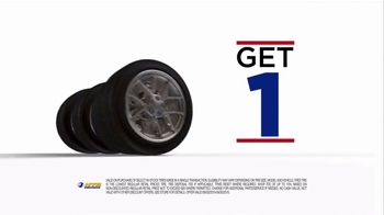National Tire & Battery (NTB) TV Spot, 'Buy Three, Get One: Store Card'