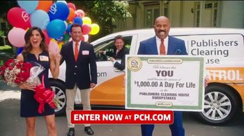 Publishers Clearing House TV Spot, 'Win $1,000 a Day for Life: Big Check' Featuring Steve Harvey