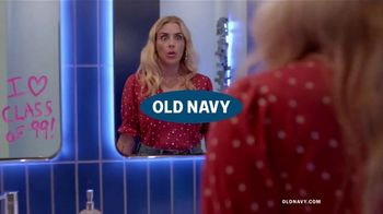 Old Navy High-Rise Slim Straight Jeans TV Spot, 'Reunion: 50%: Adults & Kids' - 859 commercial airings