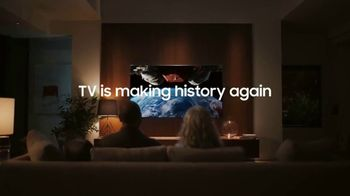 Samsung Smart TV QLED 8K Event TV Spot, 'TV Is Making History Again' - Thumbnail 8