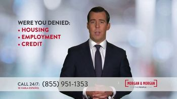 Morgan and Morgan Law Firm TV Spot, 'Credit Report Mistake or Identity Theft'
