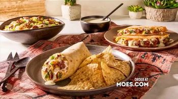Moe's Southwest Grill Steak & Queso TV Spot, 'Better'