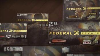 Federal Premium Ammunition TV Spot, 'The Gold Standard Advantage'