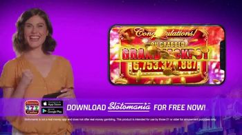 Slotomania TV Spot, 'Balanced Fun' - Thumbnail 7