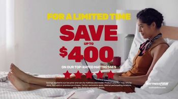 Mattress Firm Semi-Annual Sale TV Spot, 'Save on Top Rated Mattresses'