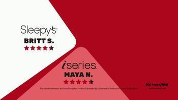 Mattress Firm Semi-Annual Sale TV Spot, 'Save on Top Rated Mattresses' - Thumbnail 7