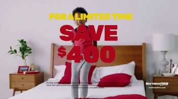 Mattress Firm Semi-Annual Sale TV Spot, 'Save on Top Rated Mattresses' - Thumbnail 8
