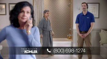 Kohler Walk-In Bath TV Spot, 'Calling Kohler: Free Turkish Bath Linens'